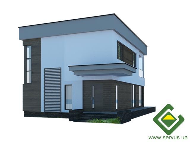 изображение фасады Проект «Антэй»