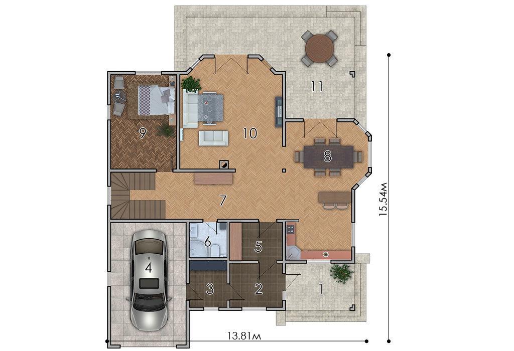 изображение первый_этаж Проект «Сент-Джонс»