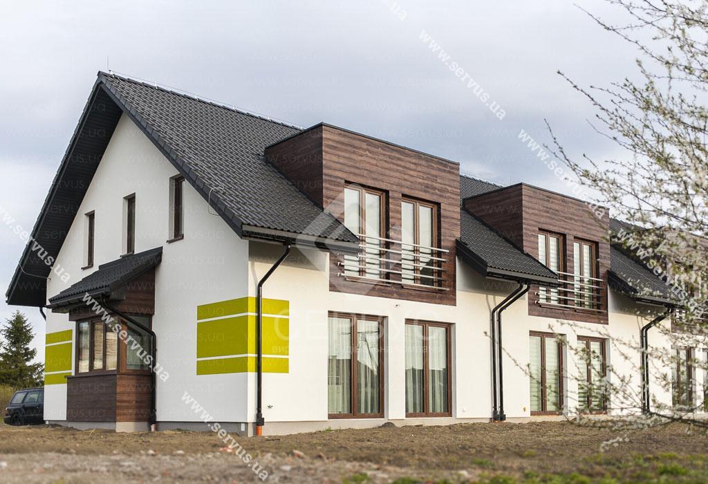 дом построенный компанией Сервус