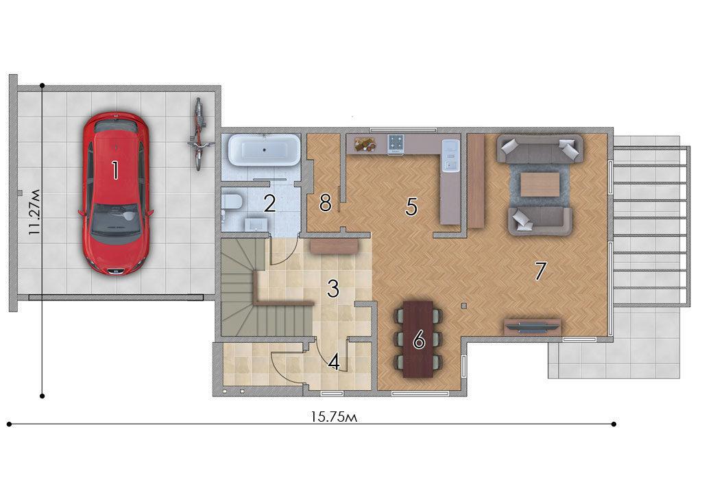 изображение первый_этаж Проект «Кингстон»