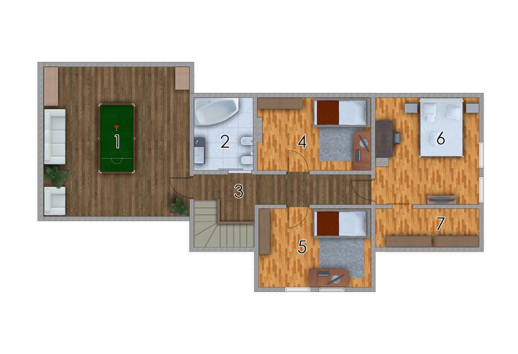 изображение второй_этаж Проект «Кингстон»