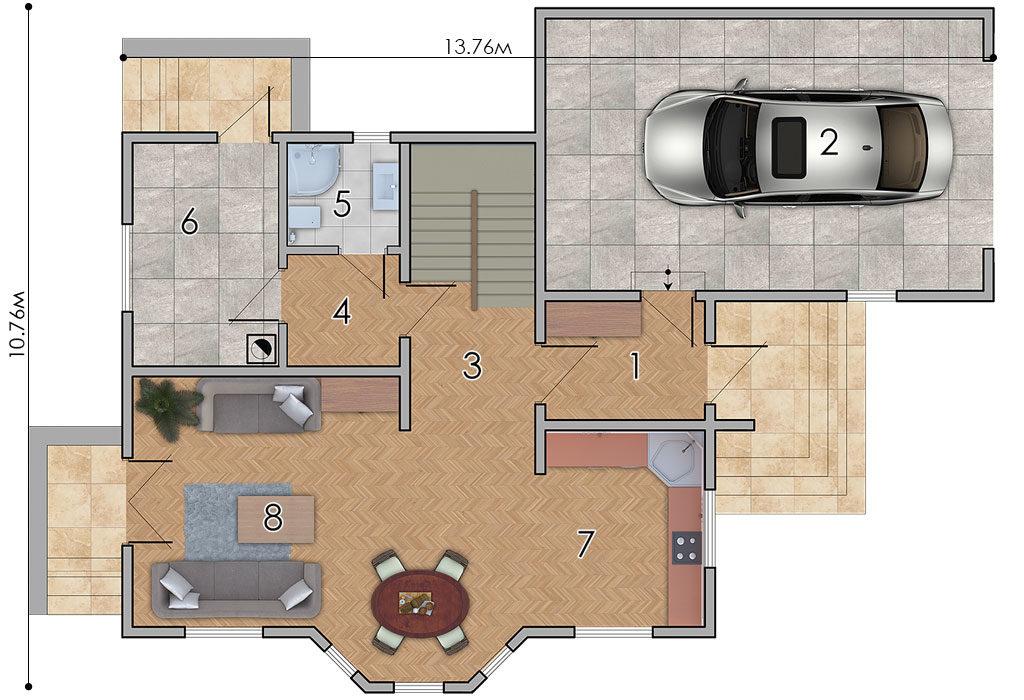 изображение первый_этаж Проект «Серсея»