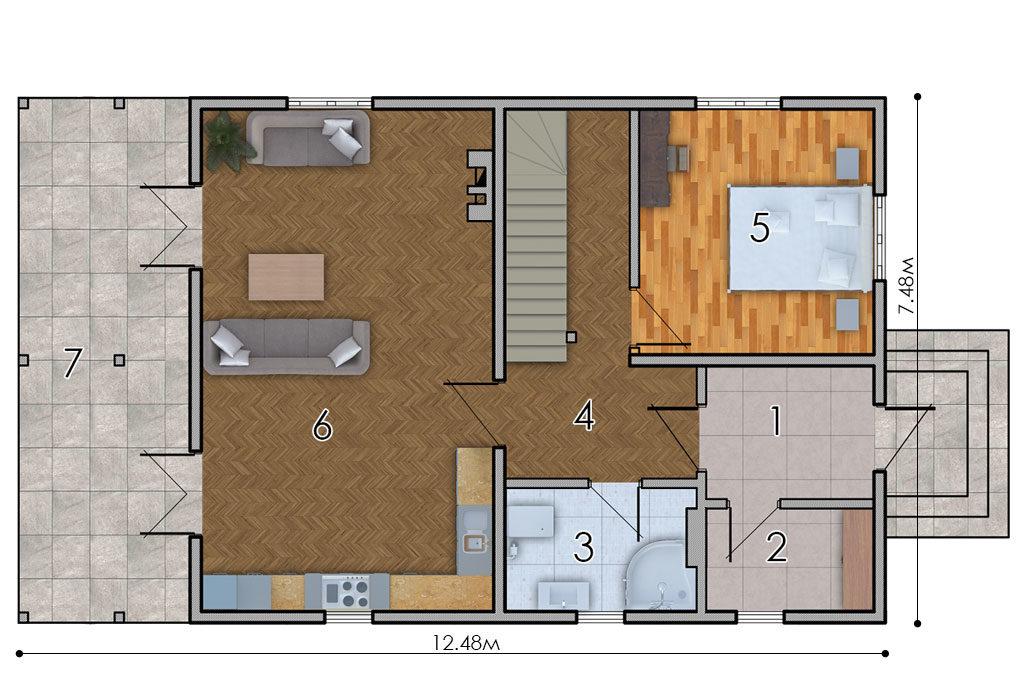 изображение первый_этаж Проект «Дриада»