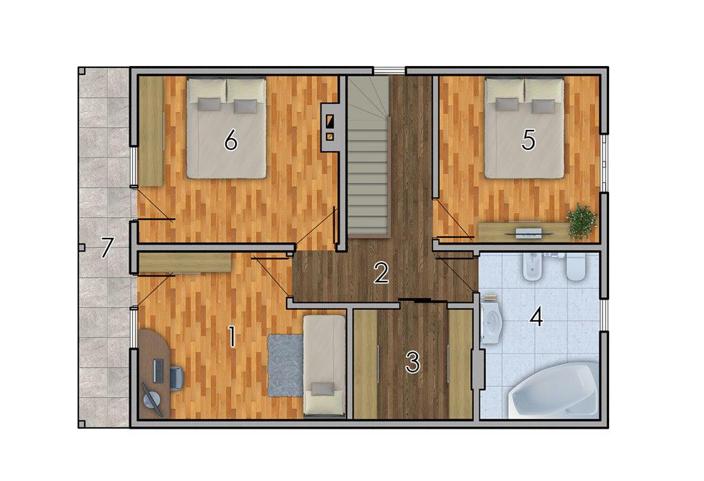 изображение второй_этаж Проект «Дриада»