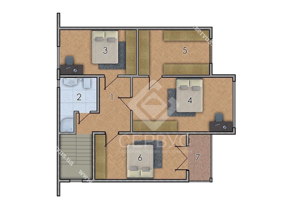 изображение второй_этаж Проект «Эмилия Хай»