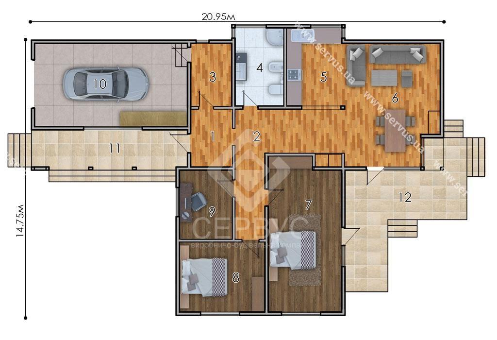 изображение первый_этаж Проект «Сакура»