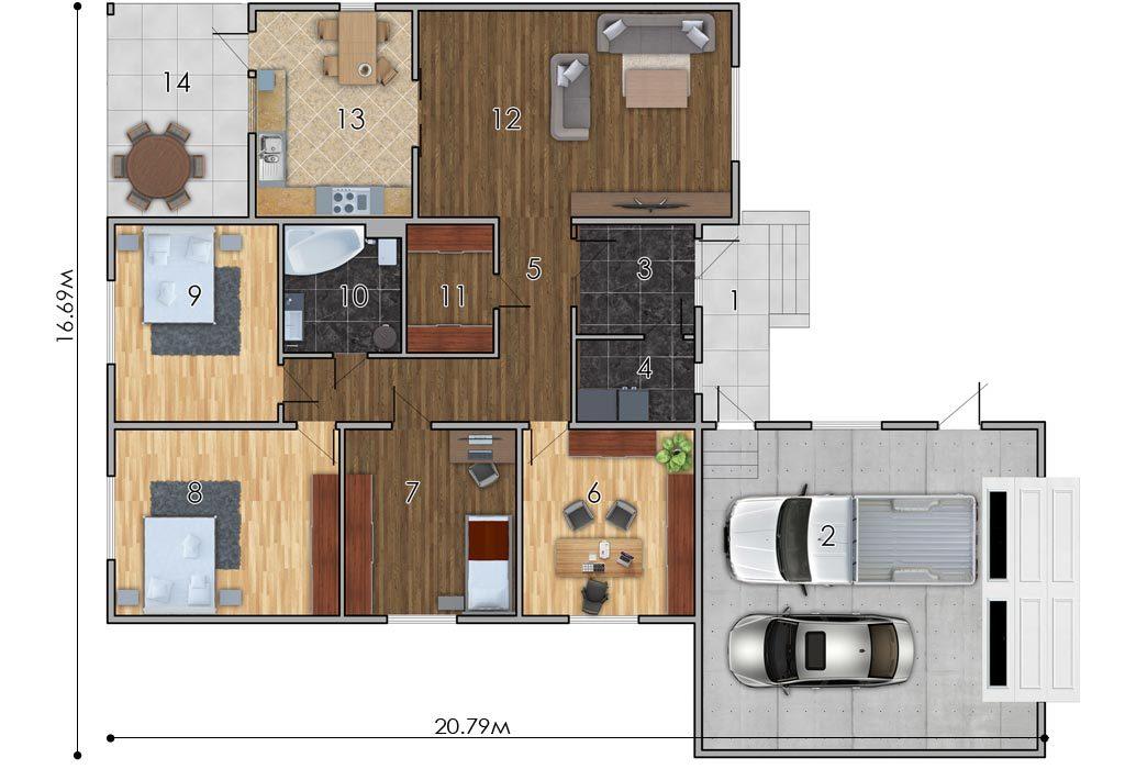 изображение первый_этаж Проект «Конунг»