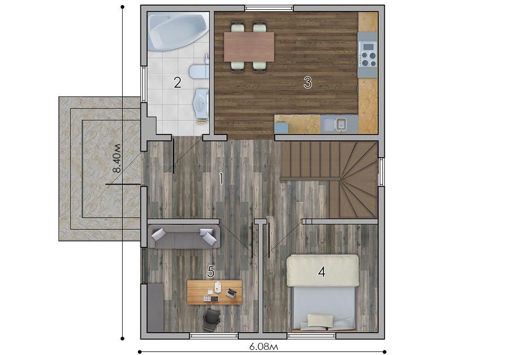 изображение первый_этаж Проект «Ора»