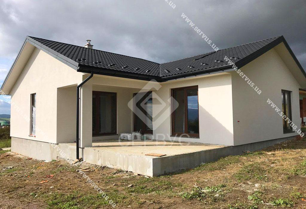 Одноэтажный дом в Словакии