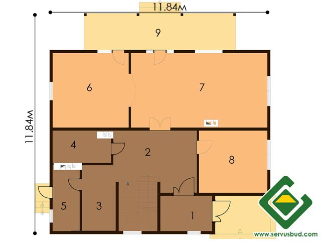 изображение первый_этаж Project «VALENSIYa»