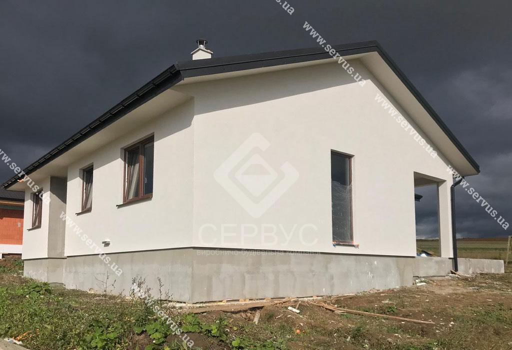 изображение Одноэтажный дом в Словакии 2