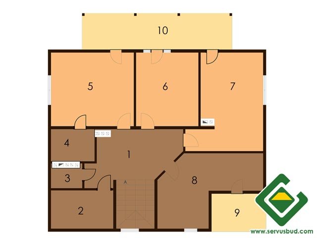 изображение второй_этаж Project «VALENSIYa»