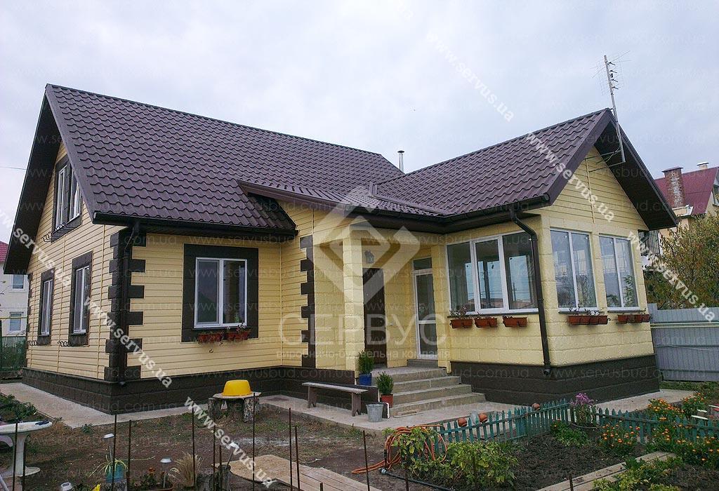 изображение Дом по проекту «Ясон» с пристройкой 1