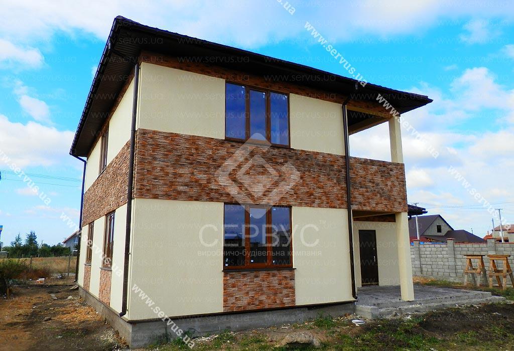 изображение Дом по проекту «КОРНЕЛЬ» 1