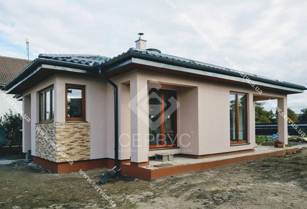 изображение Уютный одноэтажный дом 1