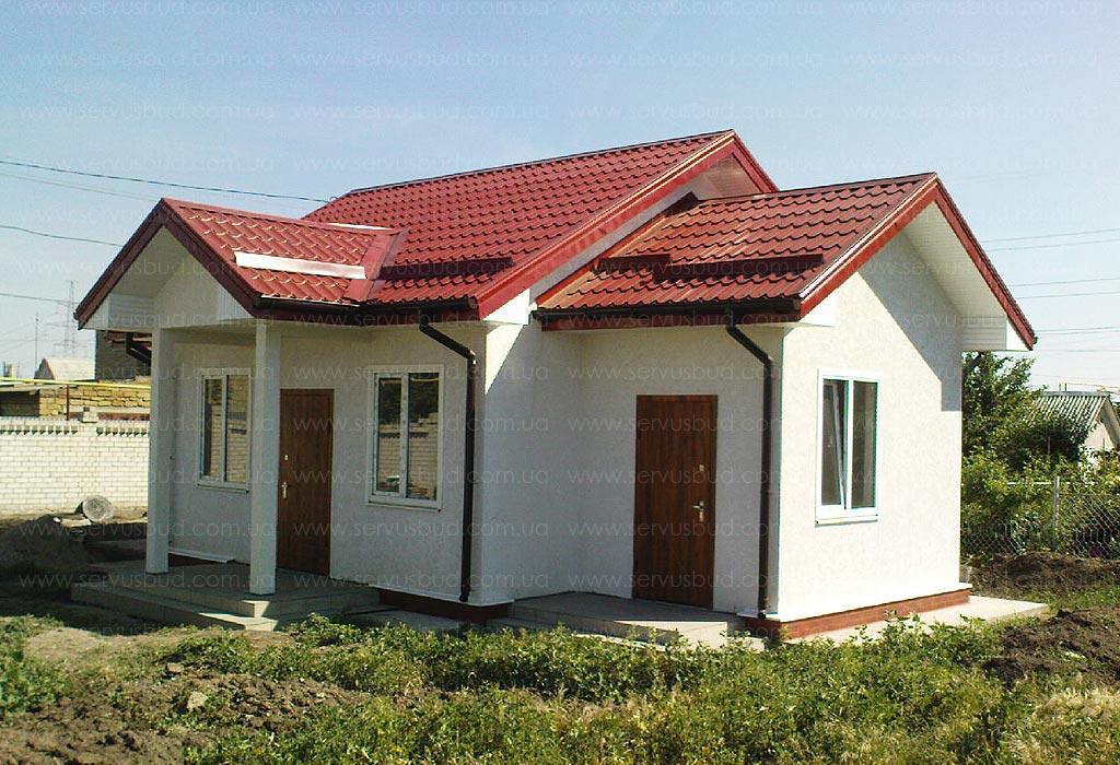 изображение Дом по проекту Снежинка 2