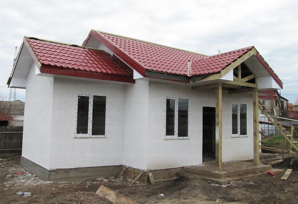 изображение Дом по проекту Снежинка 1
