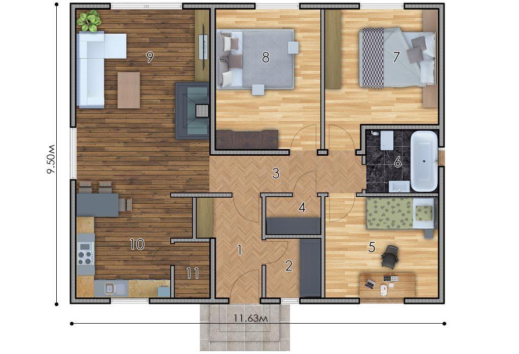 изображение первый_этаж Проект «Рико»