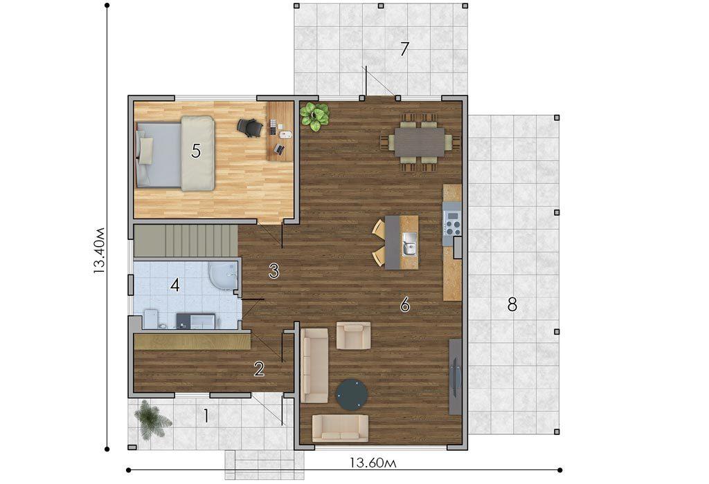 изображение первый_этаж Проект «Кларк»