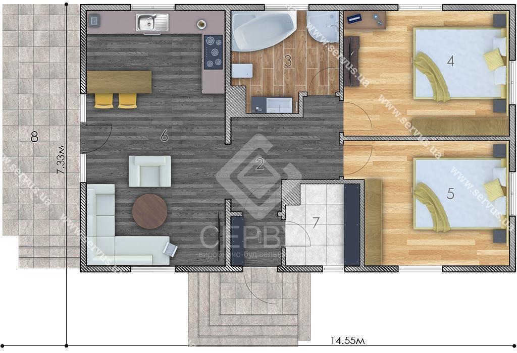 изображение первый_этаж Проект «Сена»