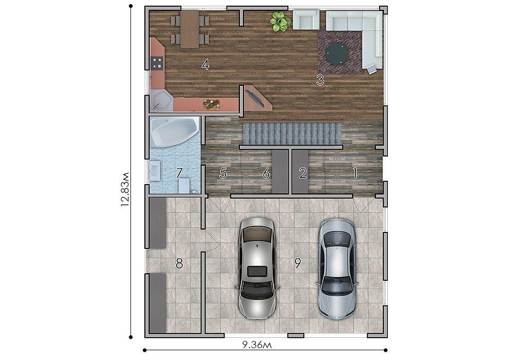изображение первый_этаж Проект «Бакс»