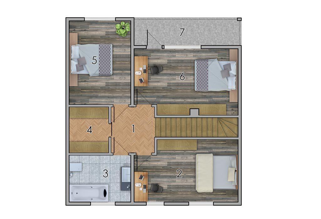 изображение второй_этаж Проект «Лесничий»