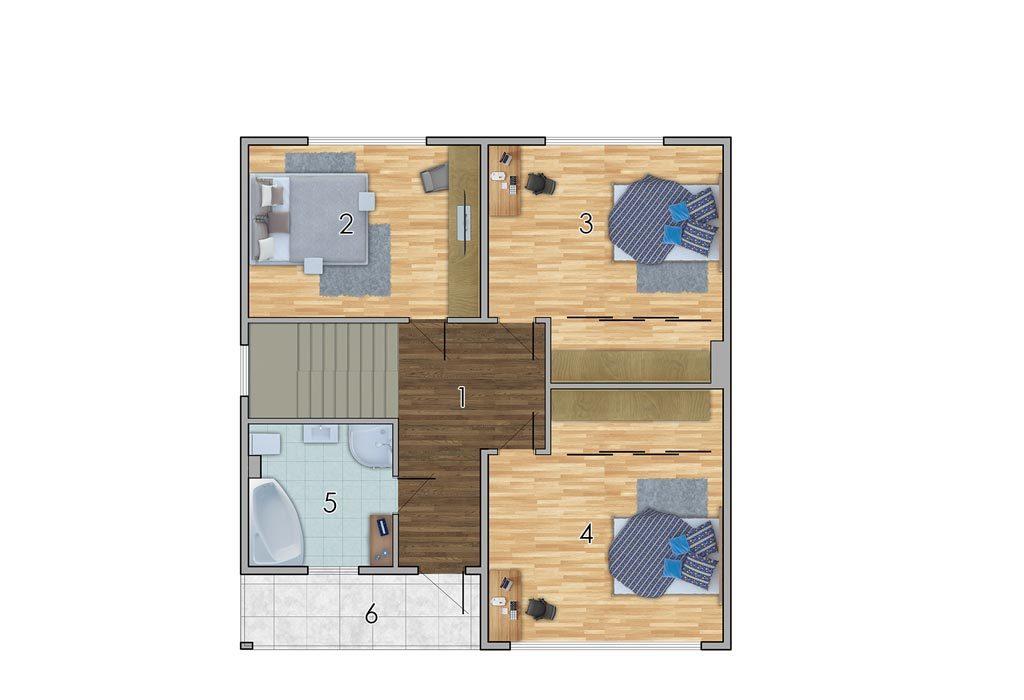 изображение второй_этаж Проект «Кларк»