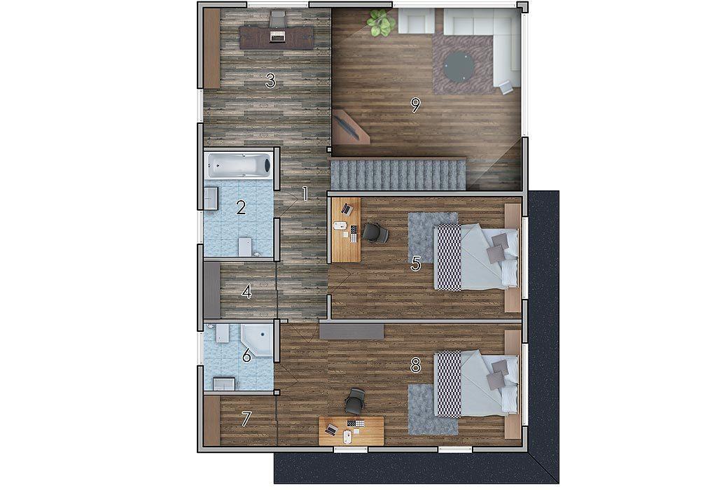 изображение второй_этаж Проект «Бакс»