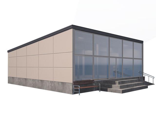 изображение фасады Проект «Админздание»