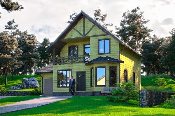 проект канадського дому Лісничий