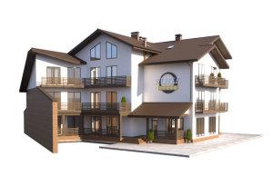 изображение фасады Гостиница «Эльдорадо» 1370м.кв.