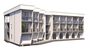 изображение фасады Гостиница «Одесса» 837м.кв.