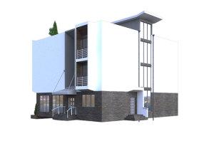 изображение фасады Гостиница «Джерси» 608.87м.кв.