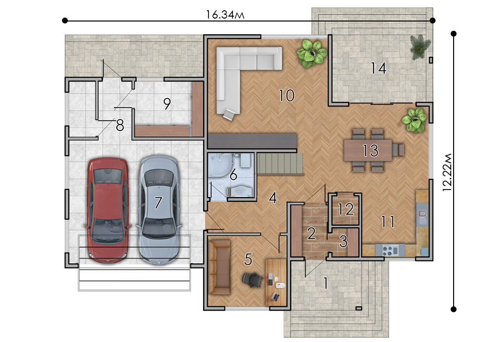 изображение первый_этаж Проект «Бора»