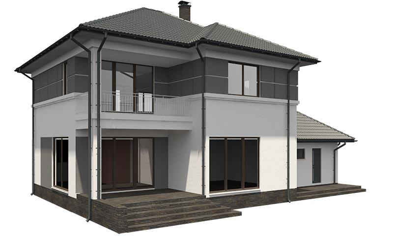 изображение фасады Проект «Бора»