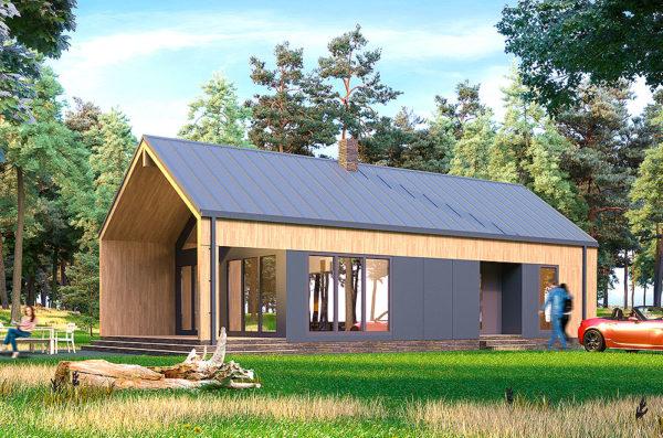 Скандинавски СИП дом