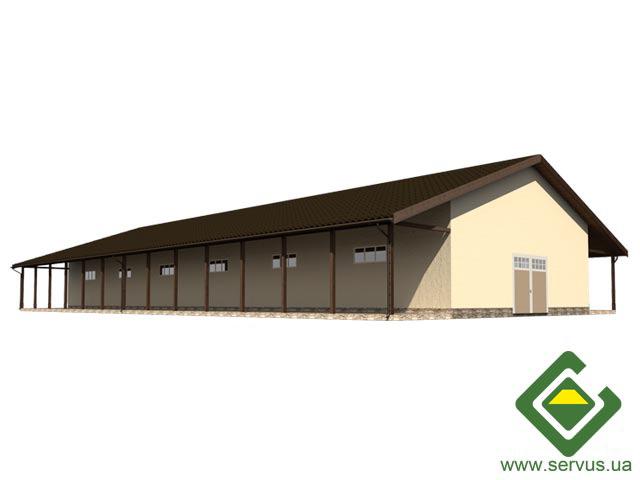 изображение фасады Проект складского помещения