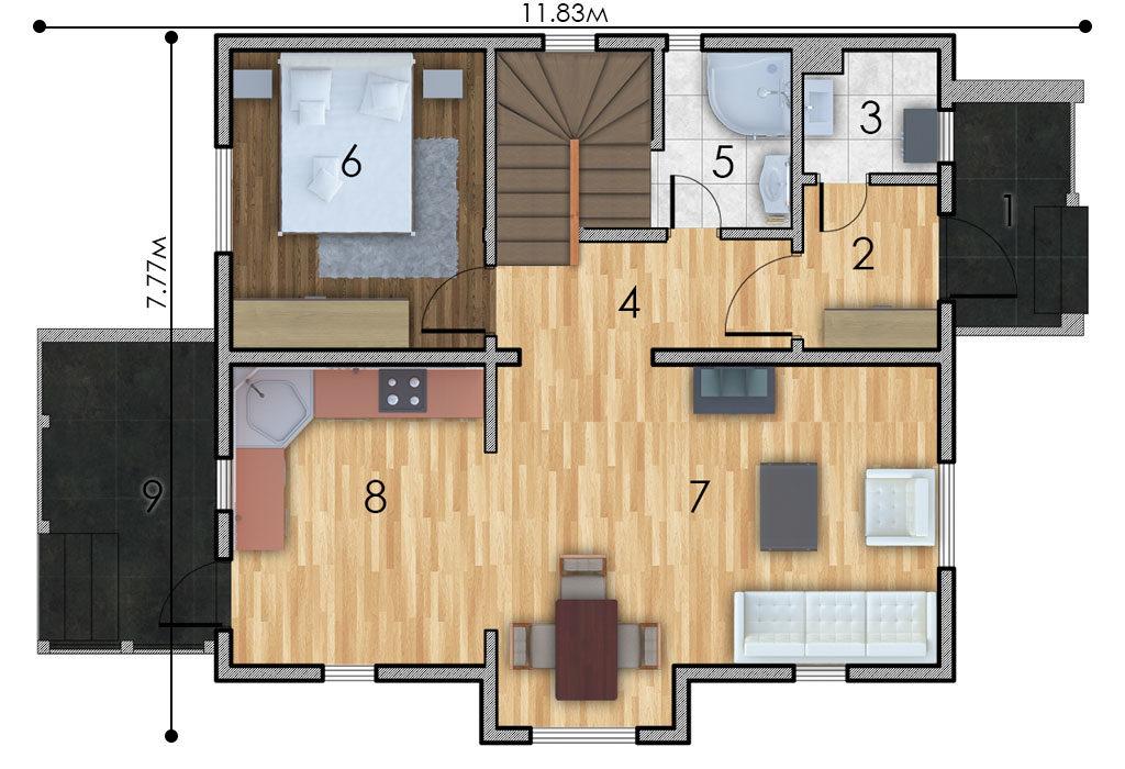 изображение первый_этаж Проект «Обитель»