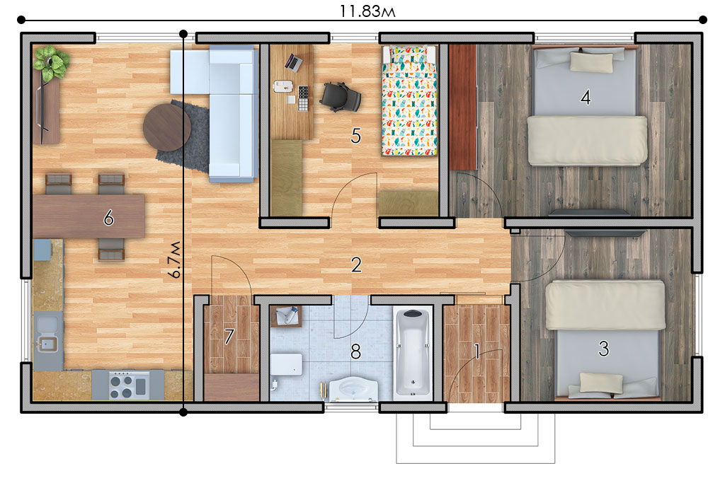 изображение первый_этаж Проект «Левин»