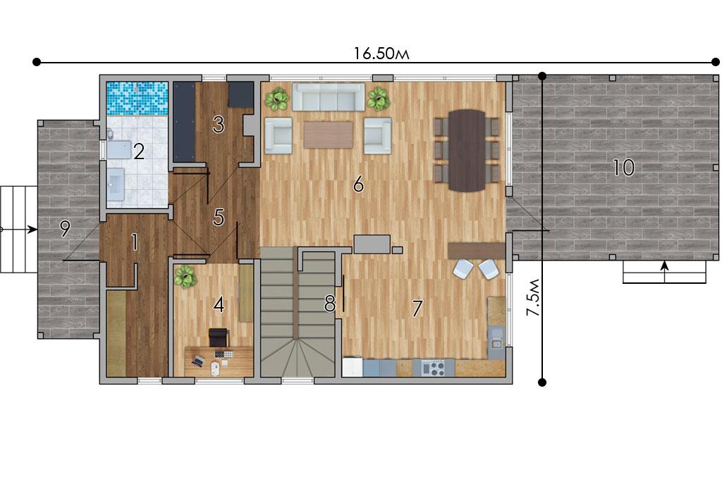 изображение первый_этаж Проект «Фэмели»