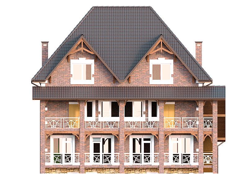 изображение фасады Міні готель Дюссельдорф