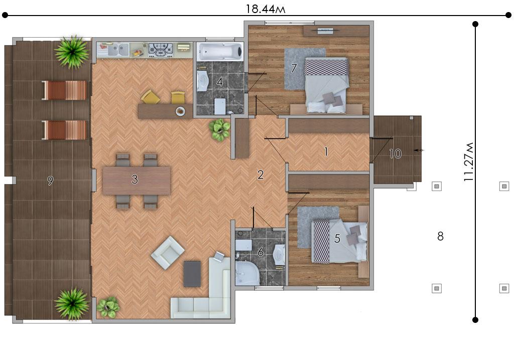 изображение первый_этаж Проект «Зефир»