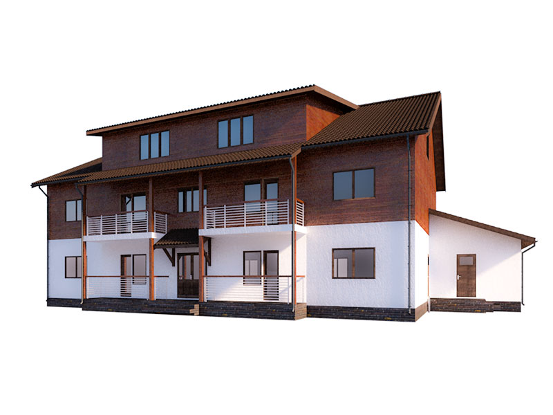 изображение фасады Мини гостиница «Борей»