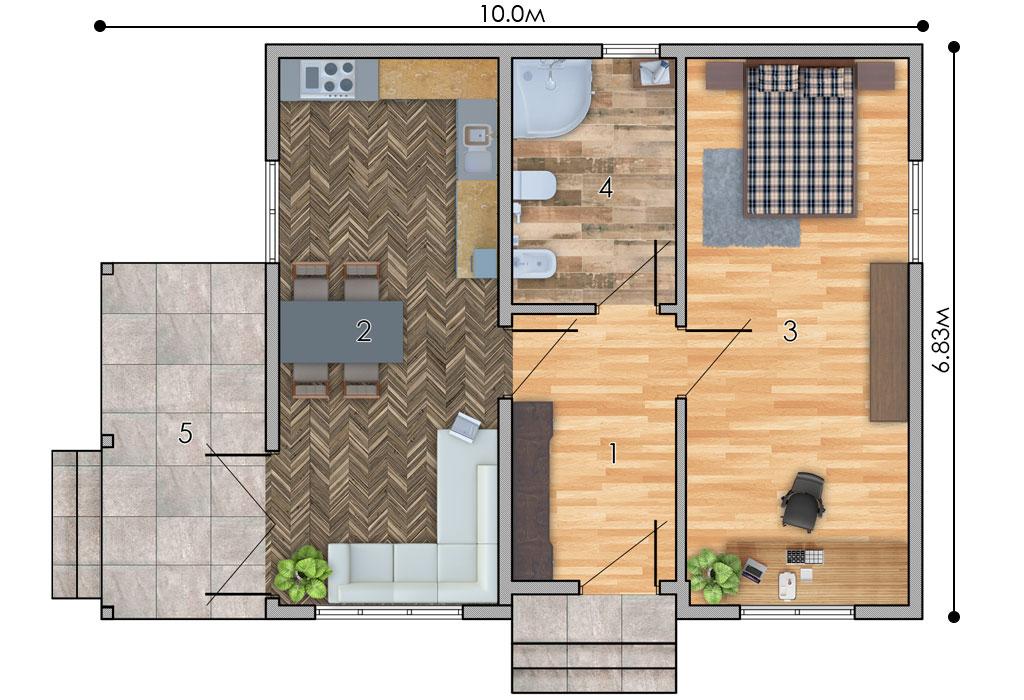 изображение первый_этаж Проект «С142-19»