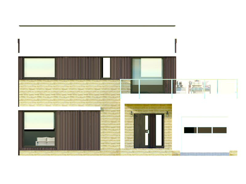 изображение фасады Проект «Таунсвилл»