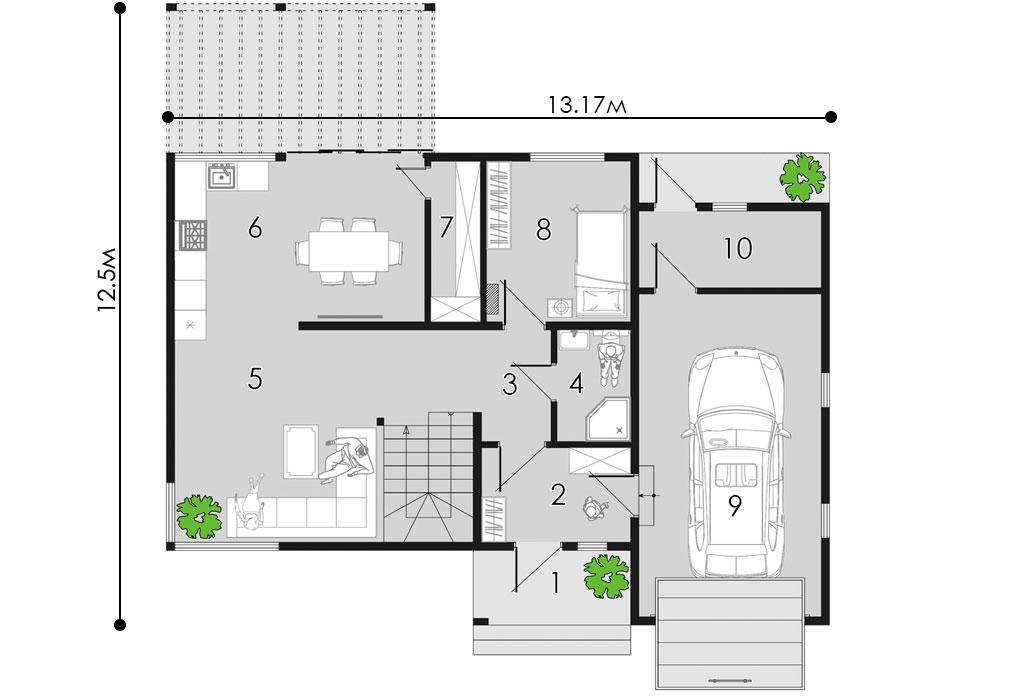 изображение первый_этаж Проект «Таунсвилл»