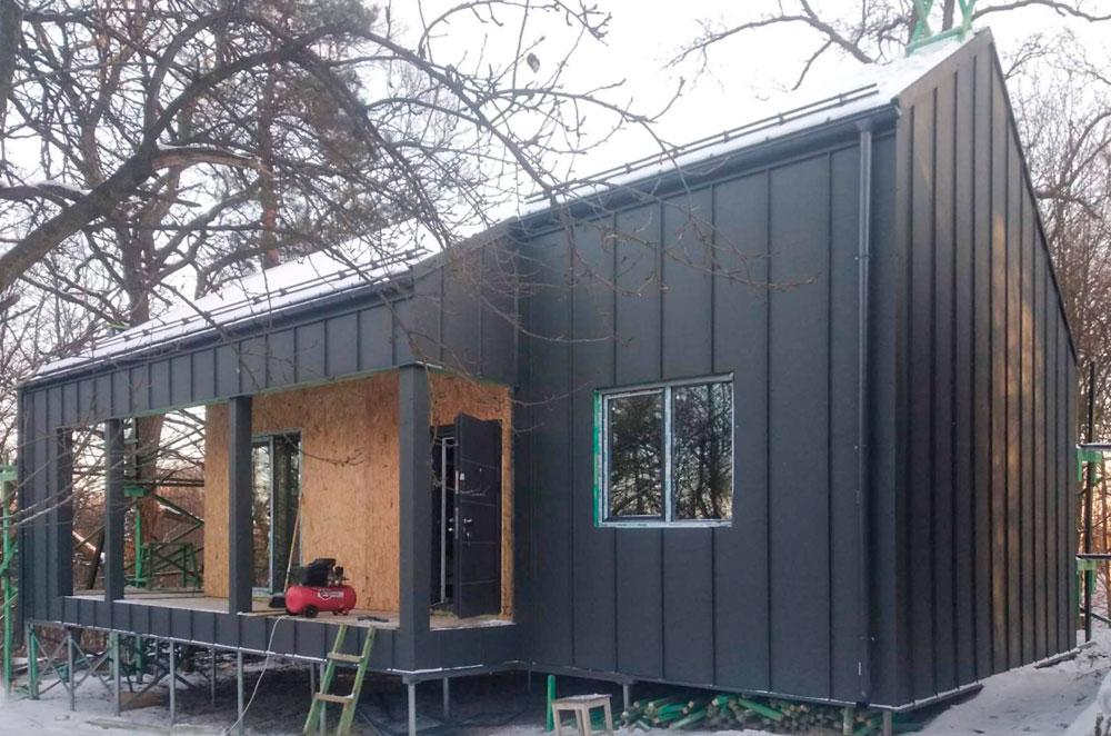 Будинок по проекту Горн
